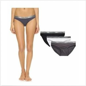 Calvin Klein Intimates & Sleepwear - Calvin Klein Women's 3 Pack Cotton bikini Underwe